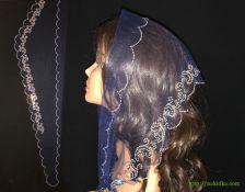 Треугольный шарф #0955
