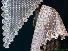 Треугольный шарф #АТ25